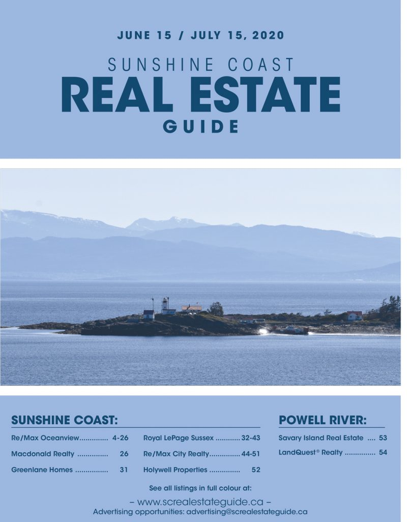 Sunshine Coast Real Estate Guide June 15 - July 15 2020